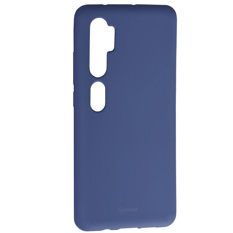 Husa Xiaomi Mi CC9 Pro Roar Colorful Jelly Case - Albastru Mat