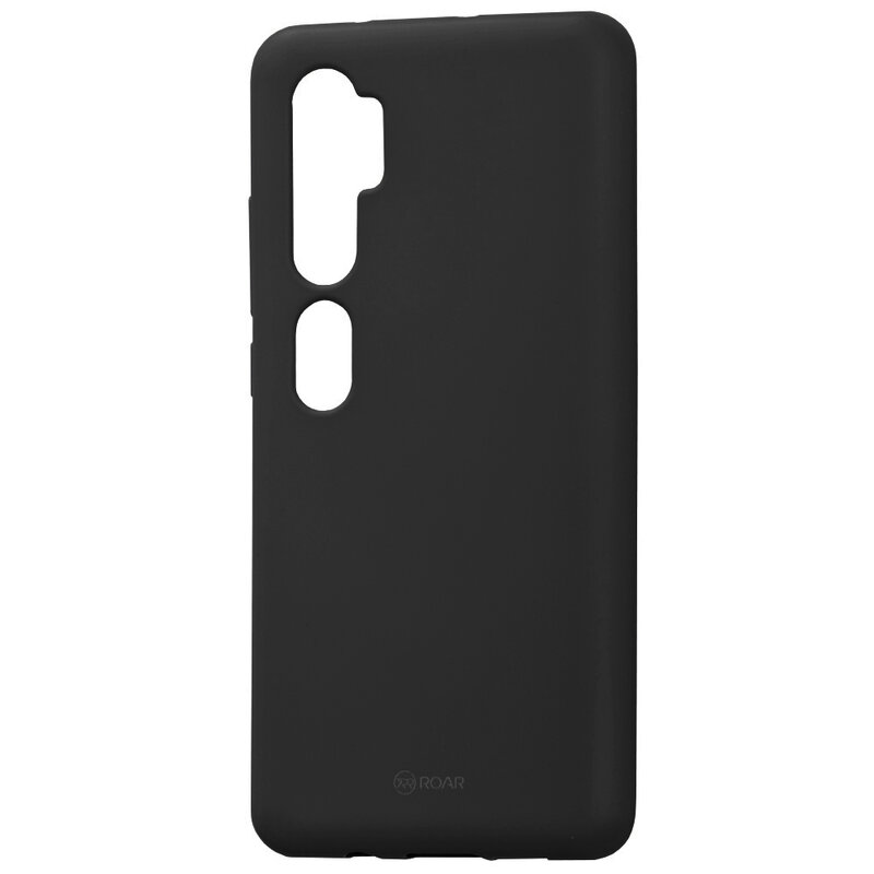 Husa Xiaomi Mi CC9 Pro Roar Colorful Jelly Case - Negru Mat