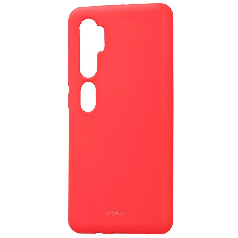 Husa Xiaomi Mi CC9 Pro Roar Colorful Jelly Case - Roz Mat