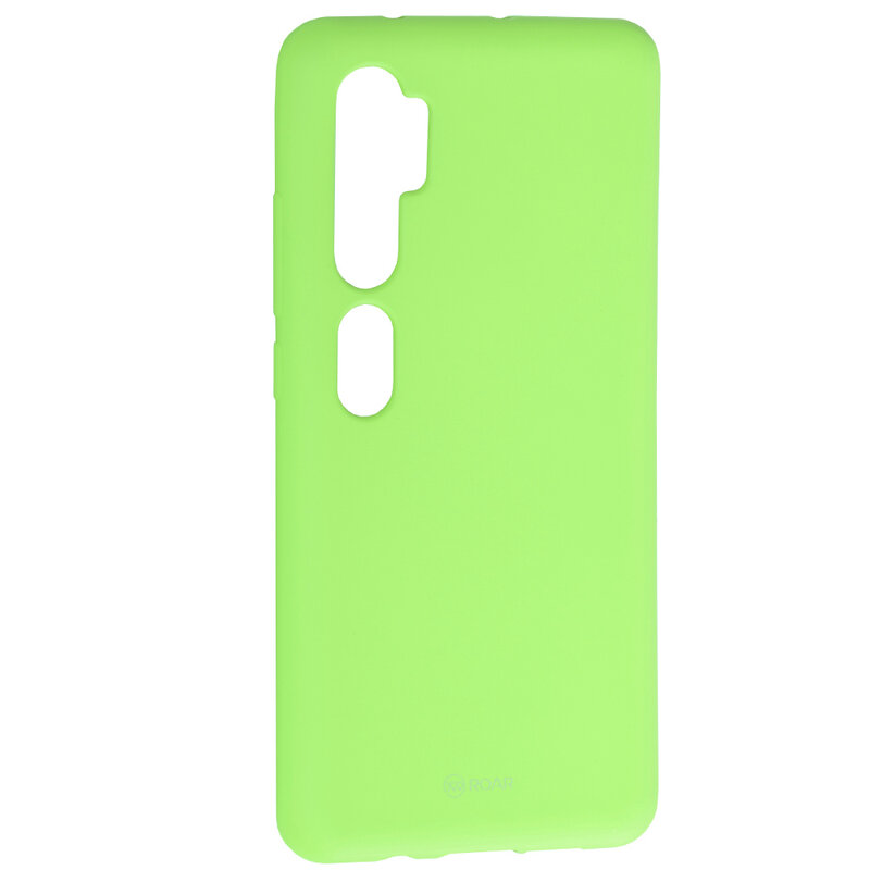 Husa Xiaomi Mi CC9 Pro Roar Colorful Jelly Case - Verde Mat