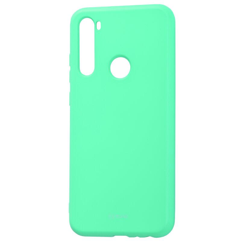 Husa Xiaomi Redmi Note 8T Roar Colorful Jelly Case - Mint Mat