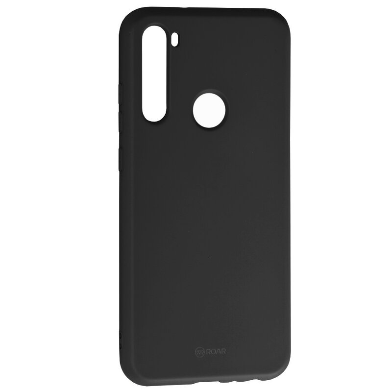 Husa Xiaomi Redmi Note 8T Roar Colorful Jelly Case - Negru Mat