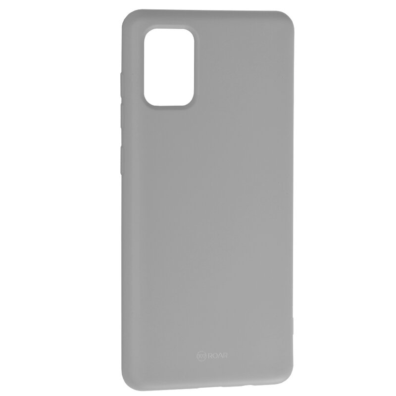 Husa Samsung Galaxy A71 Roar Colorful Jelly Case - Gri Mat