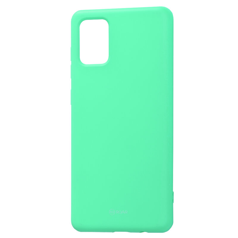 Husa Samsung Galaxy A71 Roar Colorful Jelly Case - Mint Mat
