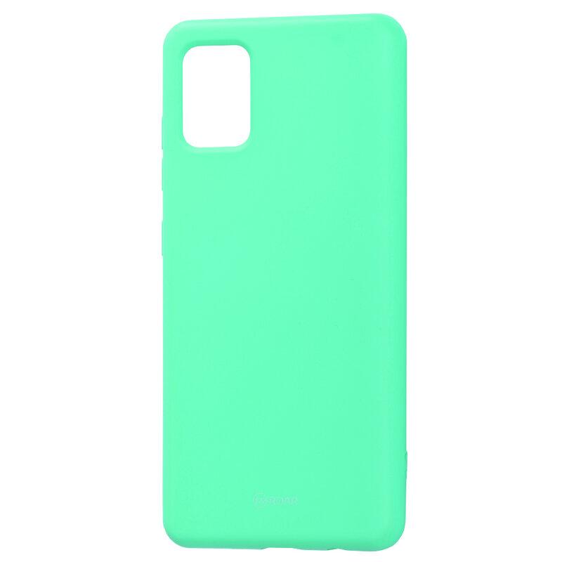 Husa Samsung Galaxy A51 Roar Colorful Jelly Case - Mint Mat