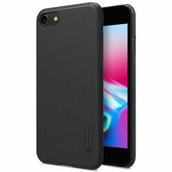 Husa Iphone 8 Nillkin Frosted Fara Decupaj Sigla - Black