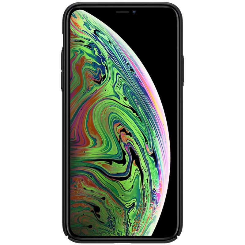 Husa iPhone 11 Nillkin Super Frosted Shield Cu Decupaj Sigla - Black