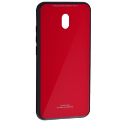 Husa Xiaomi Redmi 8A Glass Series - Rosu