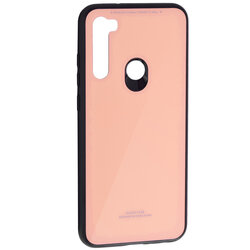 Husa Xiaomi Redmi Note 8T Glass Series - Roz