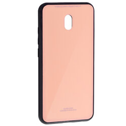 Husa Xiaomi Redmi 8A Glass Series - Roz