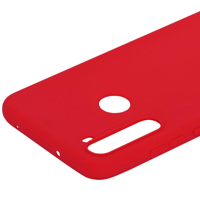 Husa Xiaomi Redmi Note 8T Soft TPU - Rosu