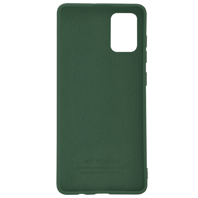 Husa Samsung Galaxy A51 Tech-Protect Icon/Smooth - Verde