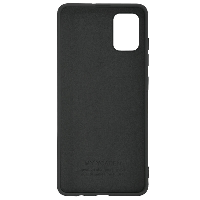 Husa Samsung Galaxy A51 Tech-Protect Icon/Smooth - Negru