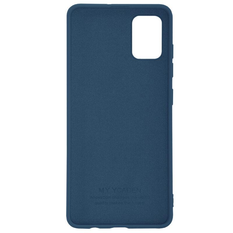 Husa Samsung Galaxy A71 Tech-Protect Icon/Smooth - Albastru