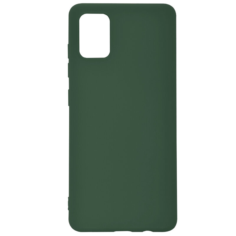 Husa Samsung Galaxy A71 Tech-Protect Icon/Smooth - Verde