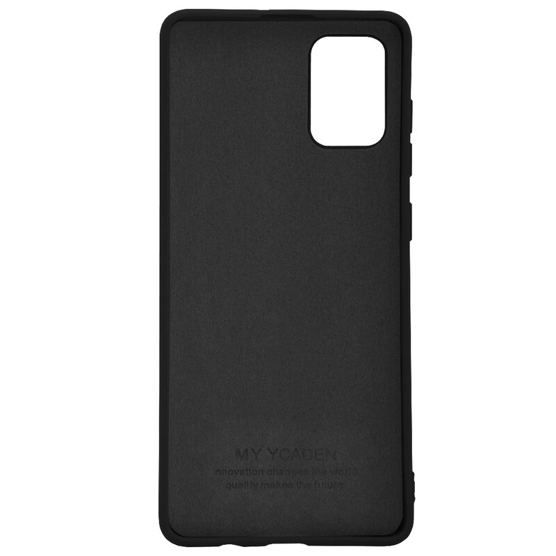 Husa Samsung Galaxy A71 Tech-Protect Icon/Smooth - Negru