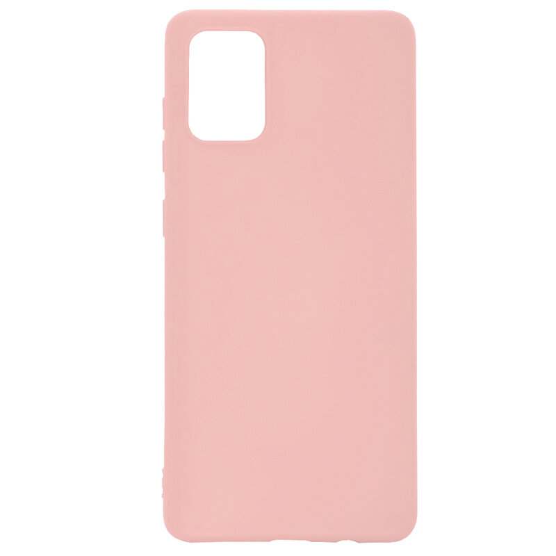 Husa Samsung Galaxy A71 Tech-Protect Icon/Smooth - Roz
