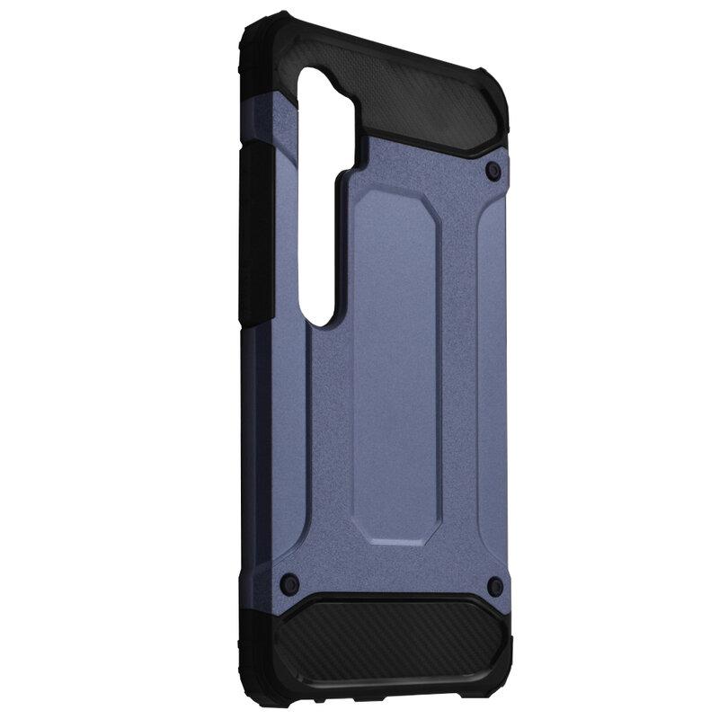 Husa Xiaomi Mi CC9 Pro Hybrid Armor - Albastru