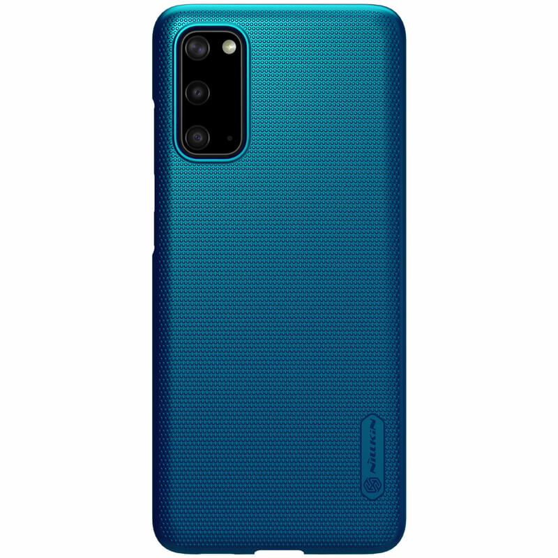 Husa Samsung Galaxy S20 Nillkin Super Frosted Shield - Blue