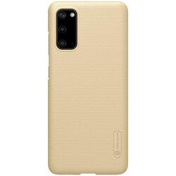 Husa Samsung Galaxy S20 5G Nillkin Super Frosted Shield - Gold