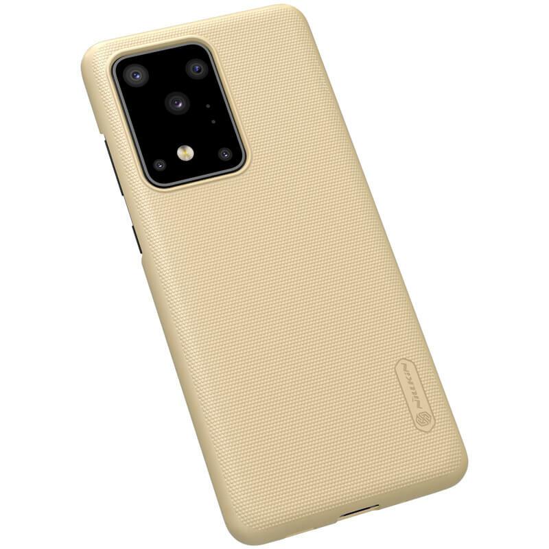 Husa Samsung Galaxy S20 Ultra 5G Nillkin Super Frosted Shield - Gold