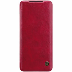 Husa Samsung Galaxy S20 5G Nillkin QIN Leather - Rosu