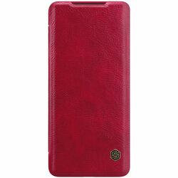 Husa Samsung Galaxy S20 Plus Nillkin QIN Leather - Rosu