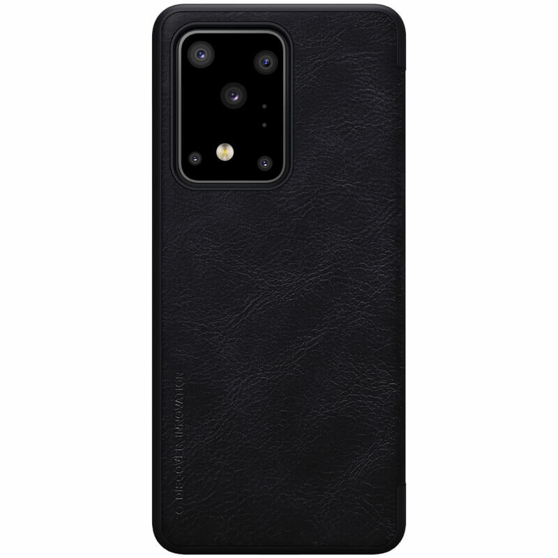 Husa Samsung Galaxy S20 Ultra 5G Nillkin QIN Leather - Negru