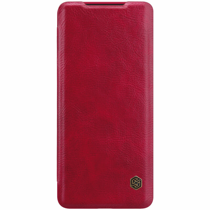 Husa Samsung Galaxy S20 Ultra 5G Nillkin QIN Leather - Rosu