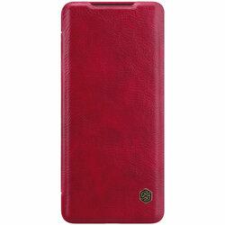 Husa Samsung Galaxy S20 Plus 5G Nillkin QIN Leather - Rosu