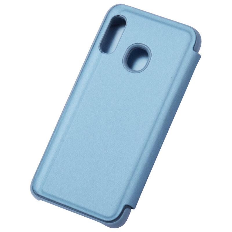 Husa Samsung Galaxy A20e Flip Standing Cover - Blue