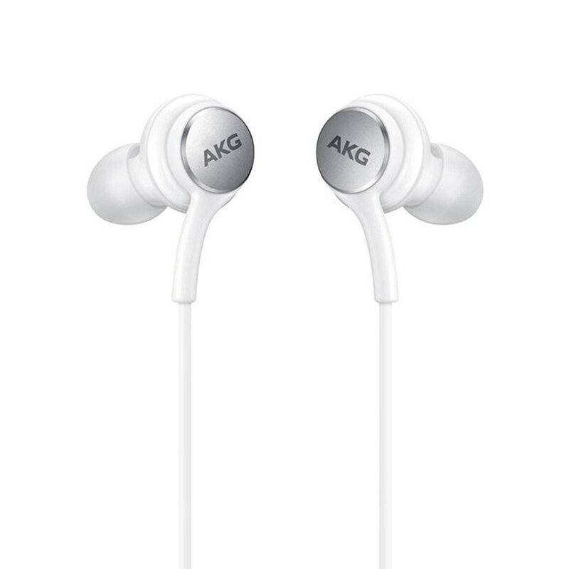 Casti In-Ear Originale Samsung AKG Stereo Headset Lossless Sound EO-IC100BWEGEU Type-C - Alb