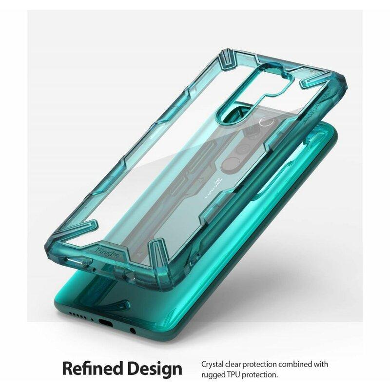 Husa Xiaomi Redmi Note 8 Pro Ringke Fusion X - Turquoise Green