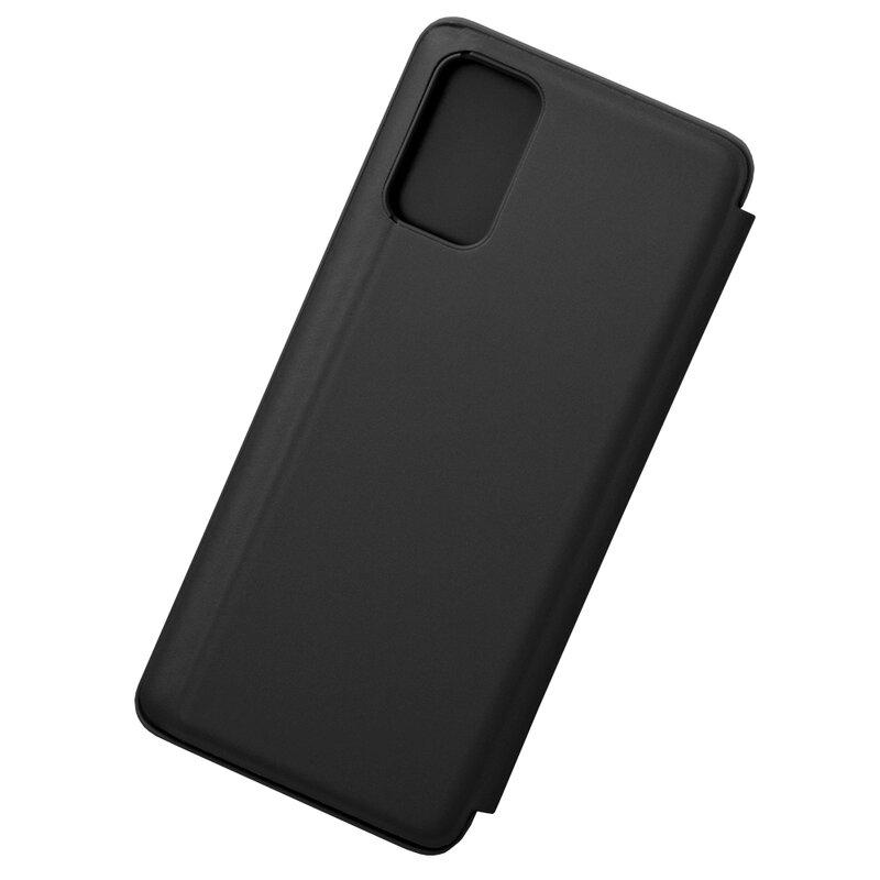 Husa Samsung Galaxy S20 Plus Flip Standing Cover - Black