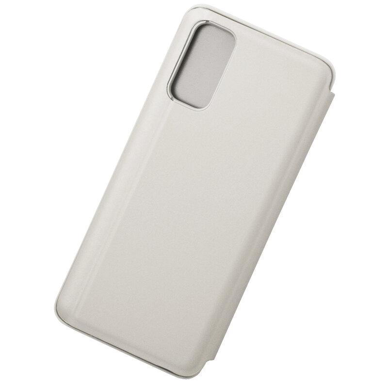 Husa Samsung Galaxy S20 Flip Standing Cover - Silver