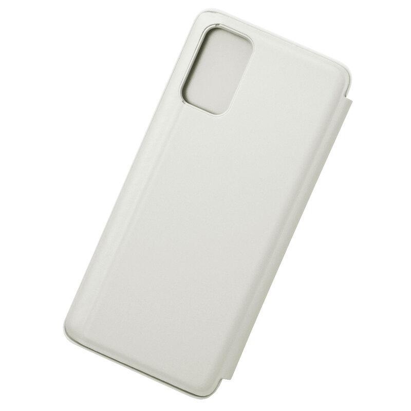 Husa Samsung Galaxy S20 Plus Flip Standing Cover - Silver