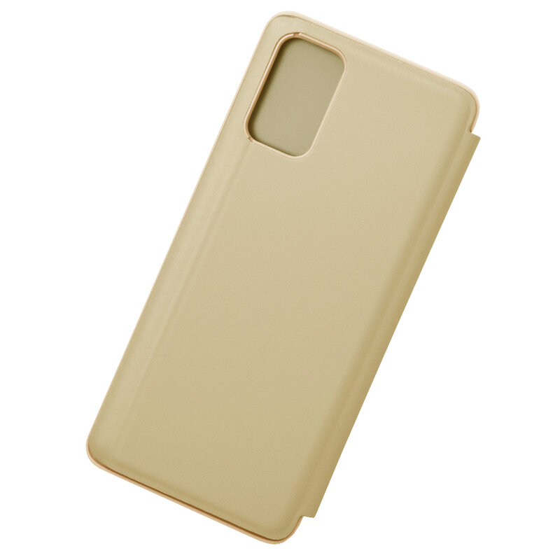 Husa Samsung Galaxy S20 Plus 5G Flip Standing Cover - Gold