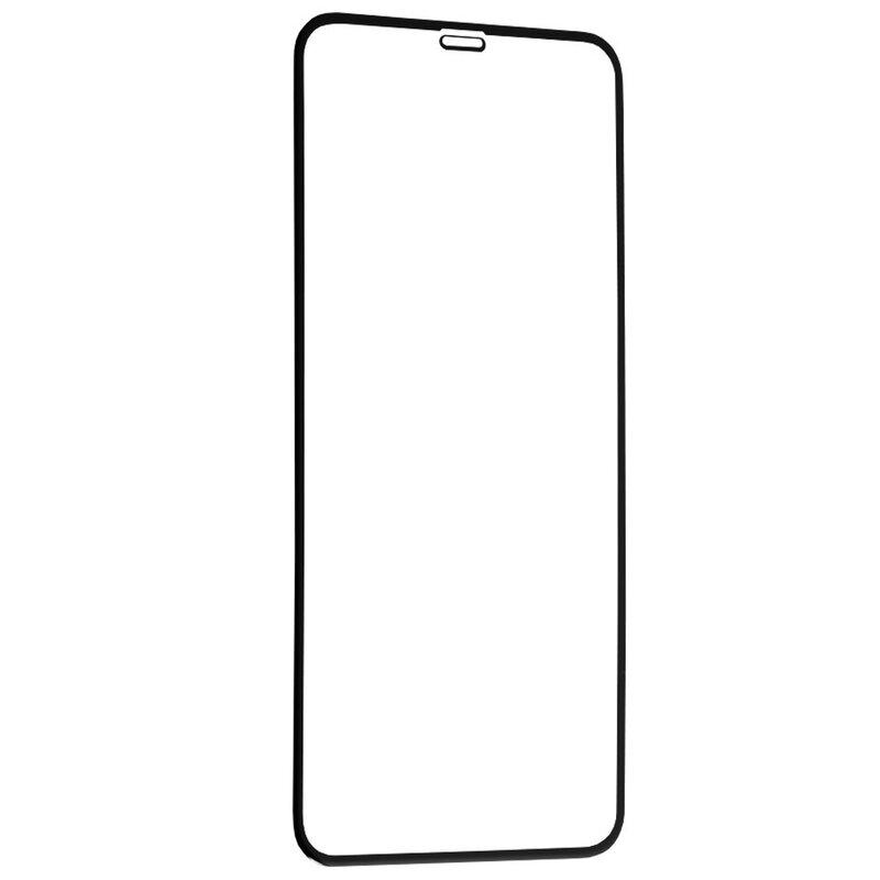 Folie Sticla iPhone XS Max Lito 2.5D Full Glue Full Cover Cu Rama - Negru