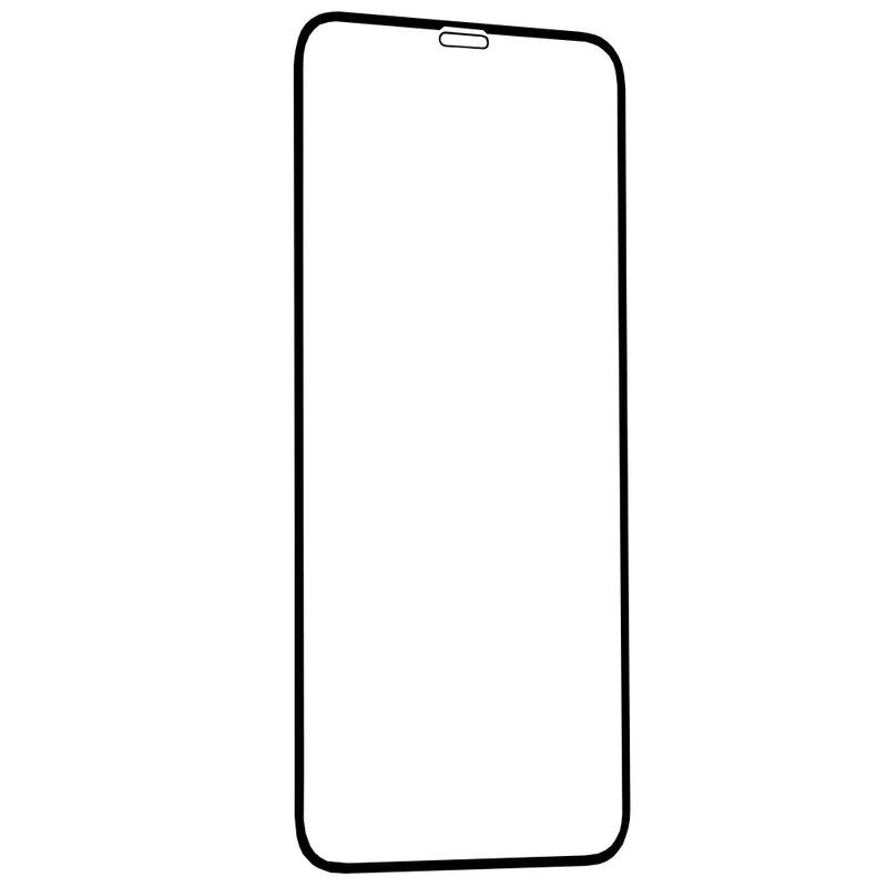 Folie Sticla iPhone XS Lito 2.5D Full Glue Full Cover Cu Rama - Negru