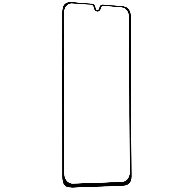Folie Sticla Samsung Galaxy A40 Lito 2.5D Full Glue Full Cover Cu Rama - Negru