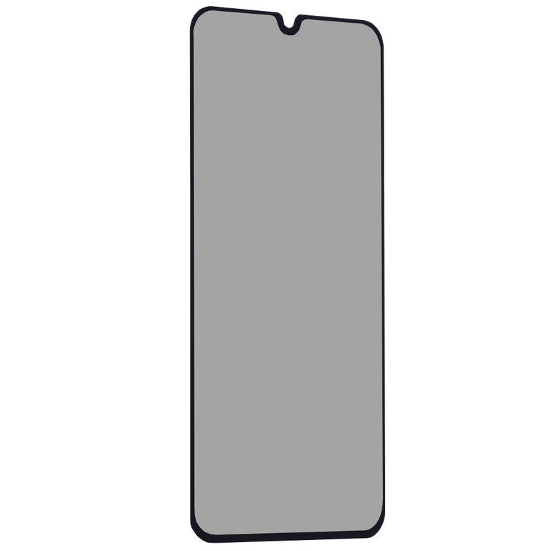 Folie Sticla Samsung Galaxy A20e Lito Privacy Cu Rama - Negru