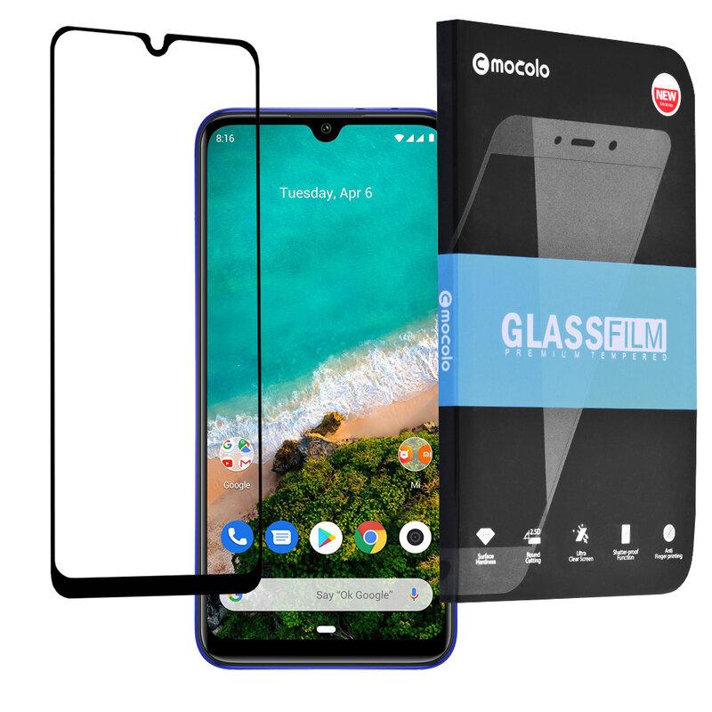 Folie Sticla Xiaomi Mi A3 / Mi CC9e Mocolo Full Glue 9H - Black
