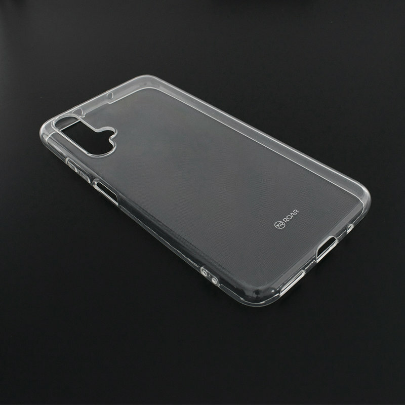 Husa Huawei Nova 5T Roar Colorful Jelly Case - Transparent