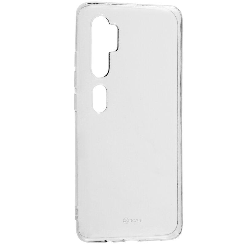 Husa Xiaomi Mi CC9 Pro Roar Colorful Jelly Case - Transparent