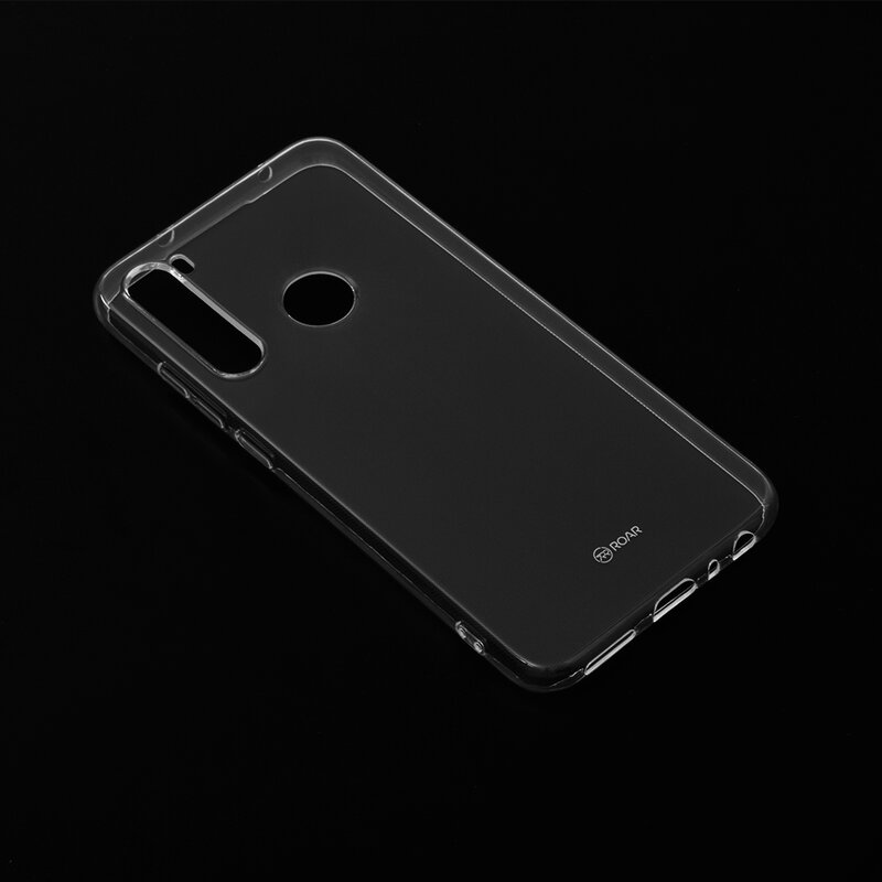 Husa Xiaomi Redmi Note 8 Roar Colorful Jelly Case - Transparent