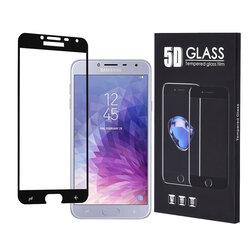 Folie Protectie Samsung Galaxy J4 2018 Sticla 5D FullGlue - Negru