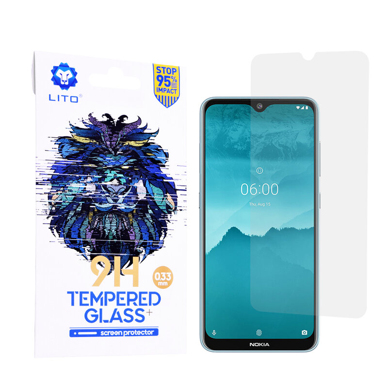 Folie Sticla Nokia 6.2 2019 Lito 9H Tempered Glass - Clear