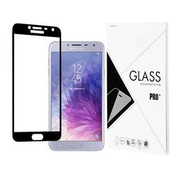 Folie Protectie Samsung Galaxy J4 2018 3D Full Glue - Negru