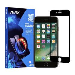 Sticla Securizata iPhone 7 FullCover 3D Anank 9H - Black