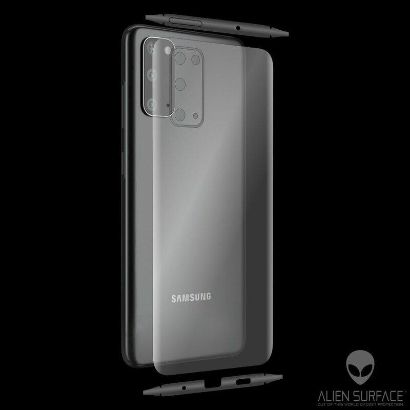 Folie 360° Samsung Galaxy S20 5G Alien Surface ecran, spate, laterale, camera - Clear